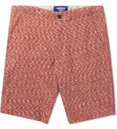 Lightning Bolt Pompeian Red Mirror Essential Sweatshorts Picutre