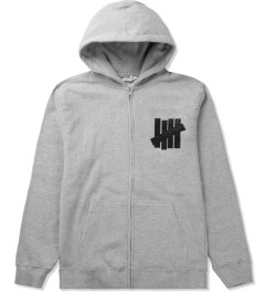 Undefeated Grey Heather 5 Strike App. Zip Hoodie Picutre