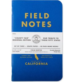 Field Notes California County Fair Picutre