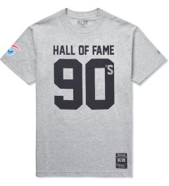 Hall of Fame Heather Grey 90's T-Shirt Picutre