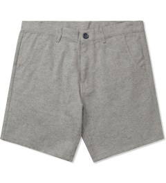 Jiberish Grey Boucle Shorts Picutre