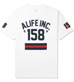 ALIFE White 158 Athletics T-Shirt Picutre