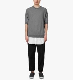 3.1 Phillip Lim Grey Melange Tail Pullover S/S Shirt Model Picutre