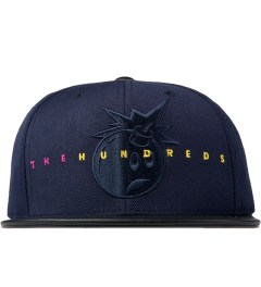 The Hundreds Blue Floradam Snapback Picutre