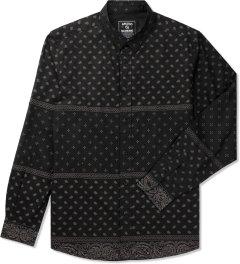 Grand Scheme Black Bandana L/S Shirt Picutre