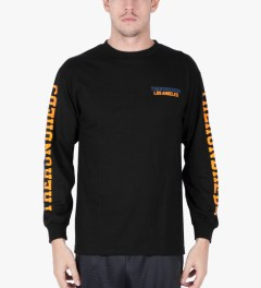 The Hundreds Black Sunnyside L/S T-Shirt Model Picutre