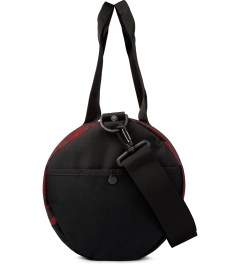 Stussy Red World Tour Large Duffle Bag Model Picutre