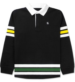 The Quiet Life Black Rugby Jersey Picutre