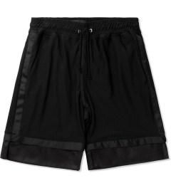 3.W.Y Black Closer Shorts Picutre