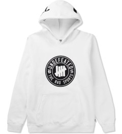 Undefeated White BS Hoodie Picutre