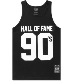 Hall of Fame Black 90's Tank Top Picutre