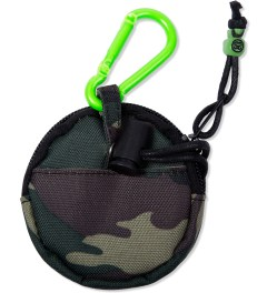 Stussy Olive Camo Key Holder Model Picutre