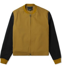 3.1 Phillip Lim Amber Zip Off Shirt Tail Harrington Zip Up Jacket Picutre