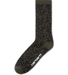 Carhartt WORK IN PROGRESS Panther Jacquard Gilbert Socks Picutre