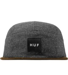 HUF Black Tweed Volley Cap Picutre