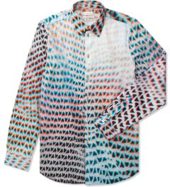 Paul Smith Lightbox Mesh Print Shirt Picutre