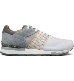 Reebok Garbstore x Reebok Flat Grey/White/Steel CL Leather 6000 Shoes Picutre