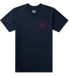 HUF Navy Crossed S/S T-Shirt Picutre