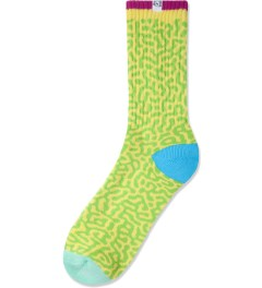 The Quiet Life Yellow Sourgrass Socks Pack Picutre