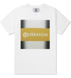 U.S. Alteration White AS14 Yellow Stripe T-Shirt Picutre