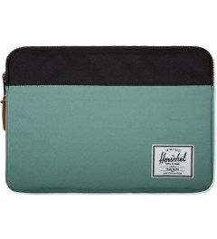 Herschel Supply Co. Seafoam/Black Anchor Sleeve for iPad Mini Picutre
