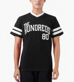 The Hundreds Black Penn T-Shirt Model Picutre