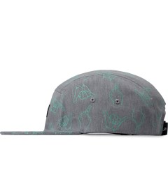 Primitive Grey HLFU 5-Panel Cap Model Picutre