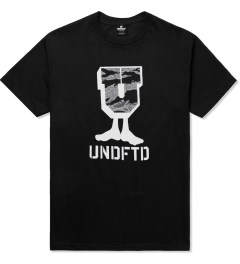 Undefeated Black Camo U-Man T-Shirt Picutre