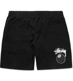 Stussy Black 8 Ball Sweatshorts Picutre