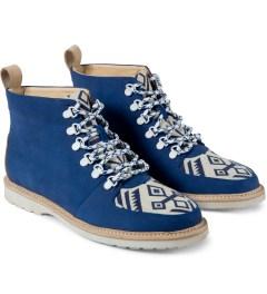 Thorocraft Blue Monte Rosa Shoes Model Picutre