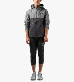 Grand Scheme Black Tech Fleece Jacket Model Picutre
