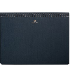 POSTALCO Dark Blue Pingraph A5 Notebook Picutre