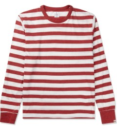 Head Porter Plus Red Border L/S T-Shirt Picutre