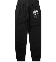 Stussy Black 8 Ball Sweatpants Picutre