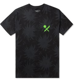 Us Versus Them Black VSW x UVT Palm Pattern T-Shirt Picutre