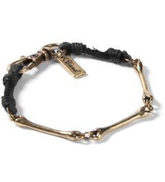 Icon Brand Burnished Gold Bone Chain Bracelet Picutre