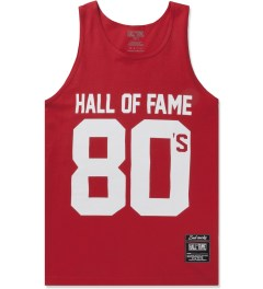 Hall of Fame Red 80's Tank Top Picutre