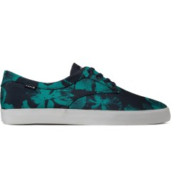 HUF Navy Floral 800D Nylon Sutter Shoes Picutre