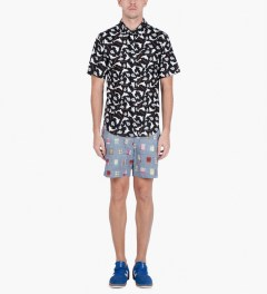 Band of Outsiders Multicolor Tailored Shorts Model Picutre