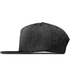 HUF Black Japanese Speckle Volley Cap Model Picutre
