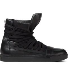 KRISVANASSCHE Black Multi Laces Sneakers Picutre