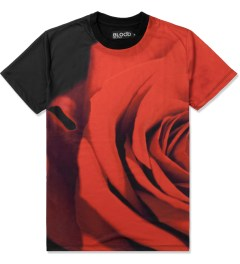 Blood Brother Black/Red Rose T-Shirt Picutre
