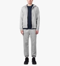 SUNSPEL Grey Melange Track Pants Model Picutre