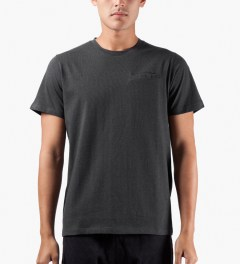 A.P.C. Anthracite Passepoil T-Shirt Model Picutre