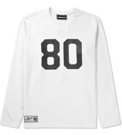 The Hundreds White Rundown L/S Shirt Picutre