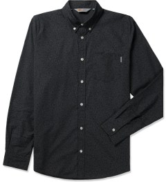 Carhartt WORK IN PROGRESS Eclipse/Black Rigid L/S Rocha Shirt Picutre
