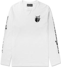 The Hundreds White Hyper L/S T-Shirt Picutre