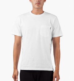 Carhartt WORK IN PROGRESS White/Marble/White S/S Glan T-Shirt Model Picutre