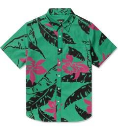 HUF Teal Copacabana S/S Woven Shirt Picutre