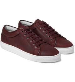 ETQ Maroon Low Top 1 Sneakers Model Picutre